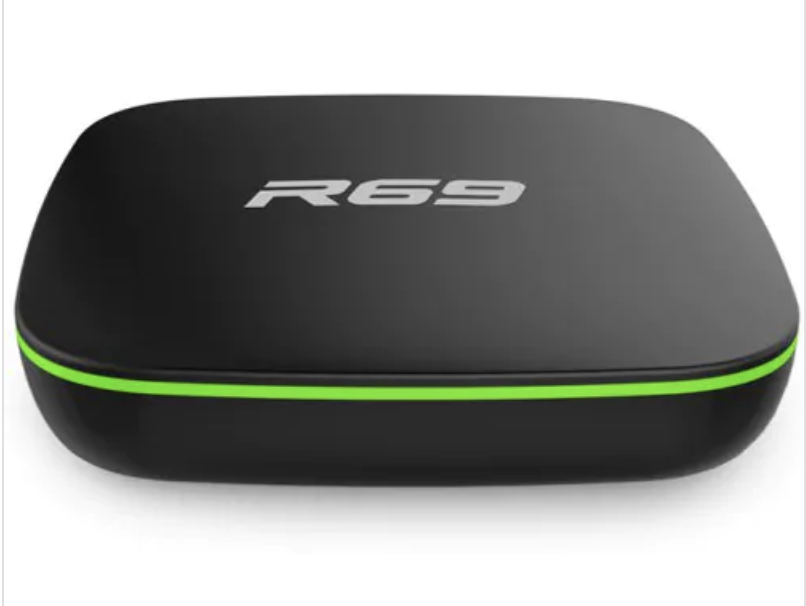R69 Quad Core 4K Smart TV Box, 1Gb RAM 8Gb ROM, Android 7 1 2 Nougat – Kodi  18 0 Leia